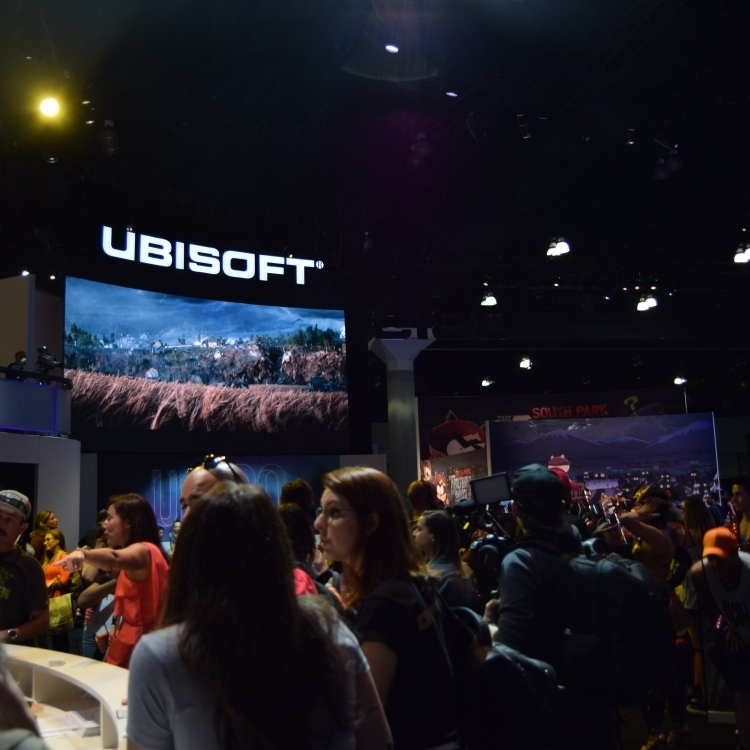 Ubisoft Section at E3