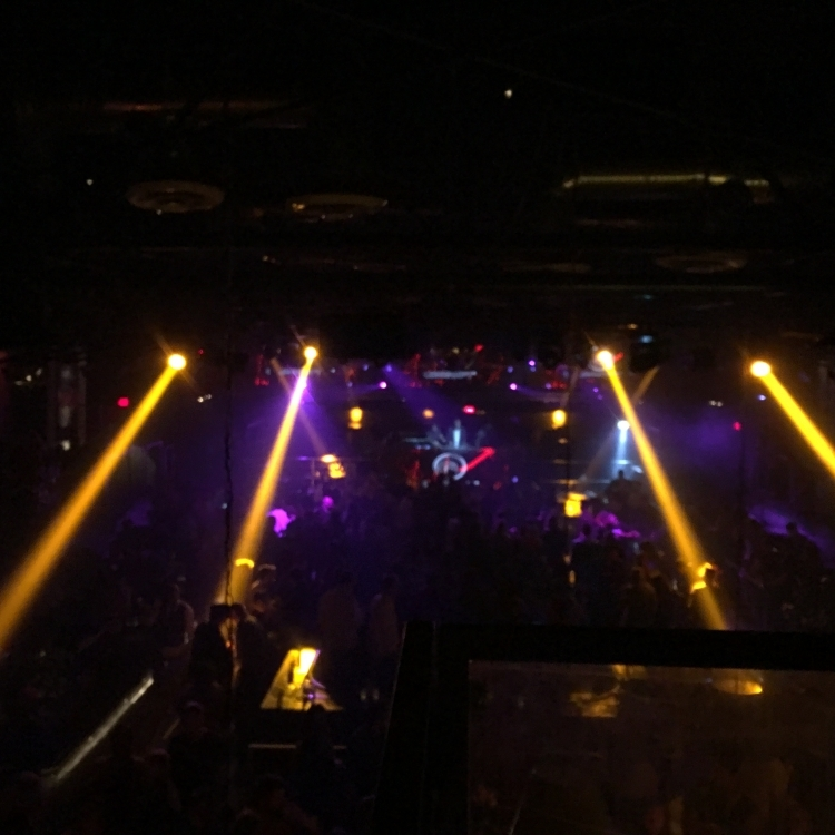 Ubi 30 Party in Hollywood / Interior - Dancefloor (Upper Tier)